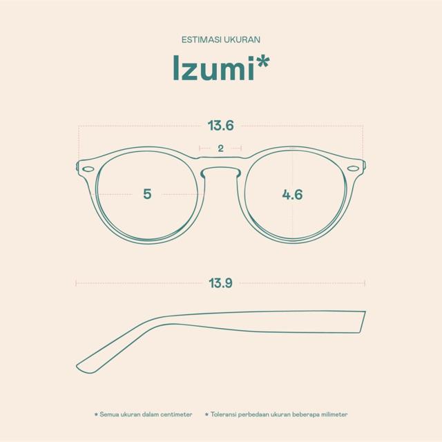 Frame Kacamata Izumi
