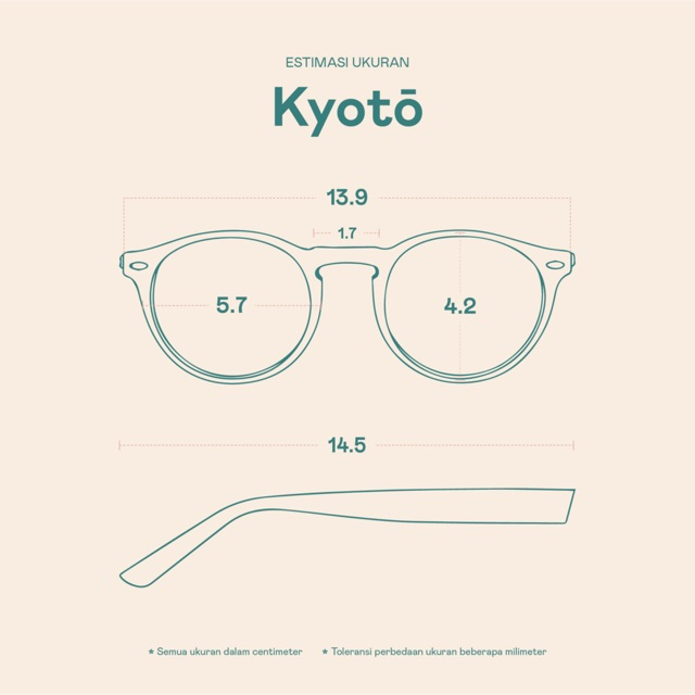 Frame Kacamata Kyoto
