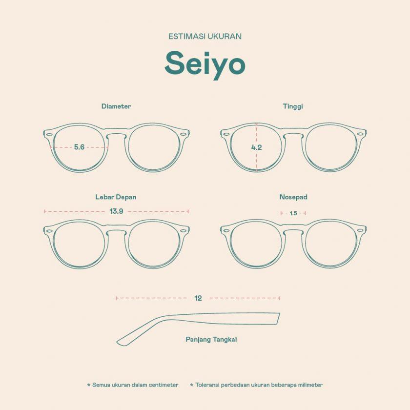 Frame Kacamata Seiyo