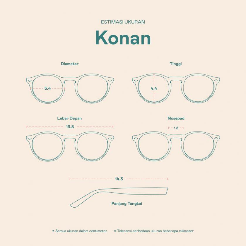 Frame Kacamata Konan