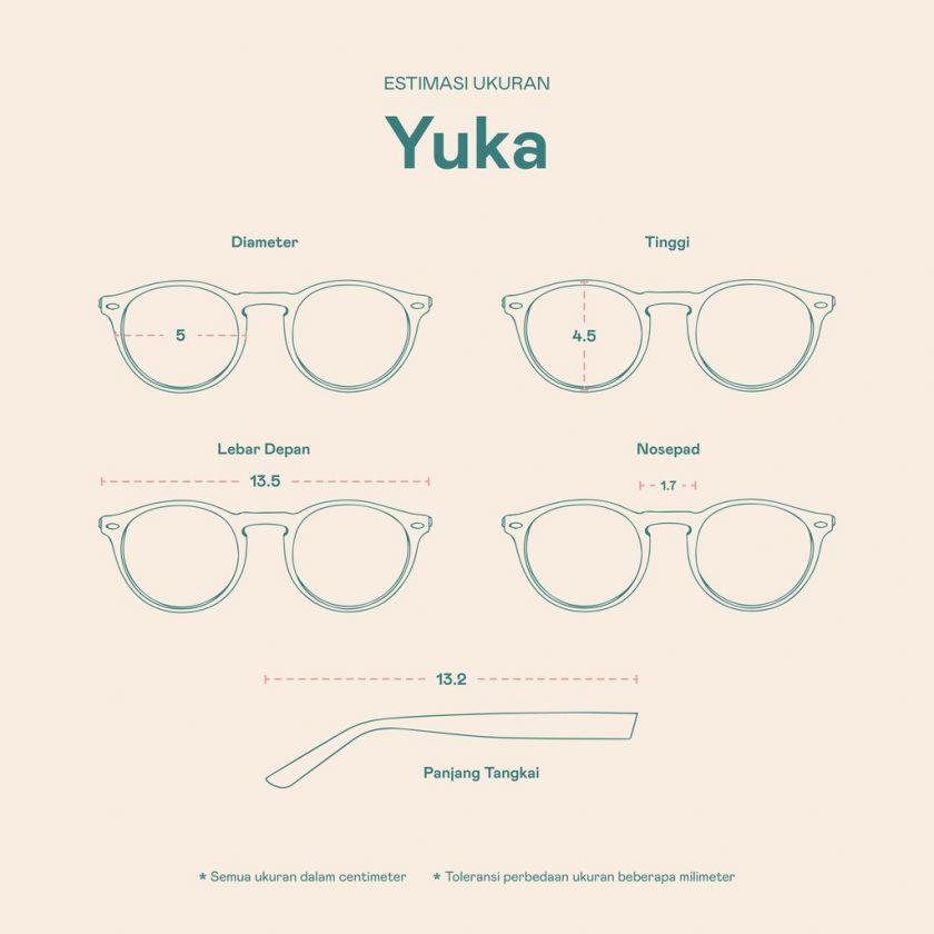 Frame Kacamata Yuka