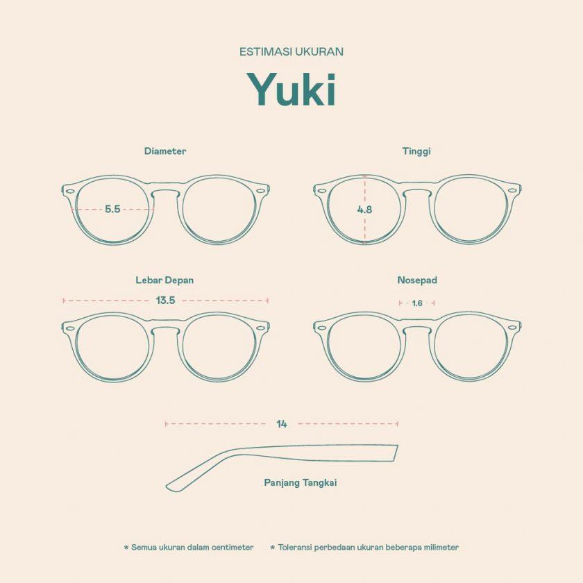 Frame Kacamata Yuki