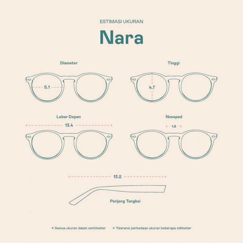 Frame Kacamata Nara