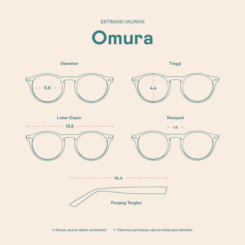 Frame Kacamata Omura