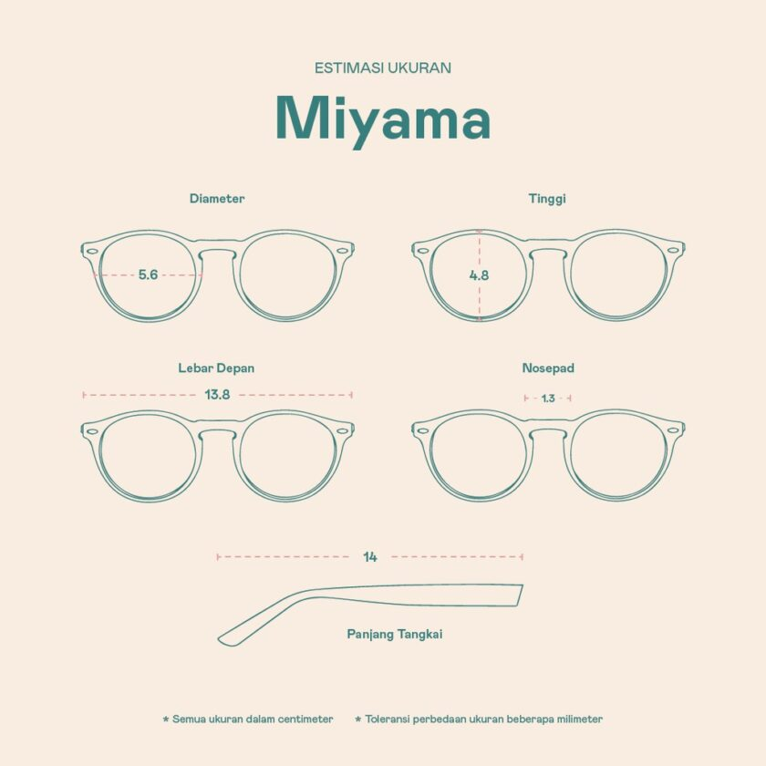 Frame Kacamata Miyama