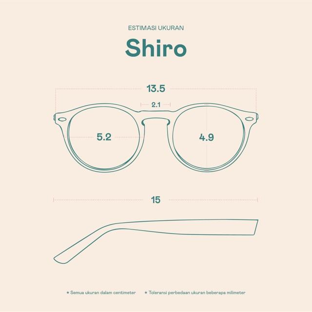 Frame Kacamata Shiro