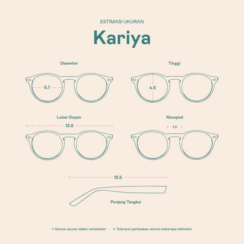 Frame Kacamata Kariya