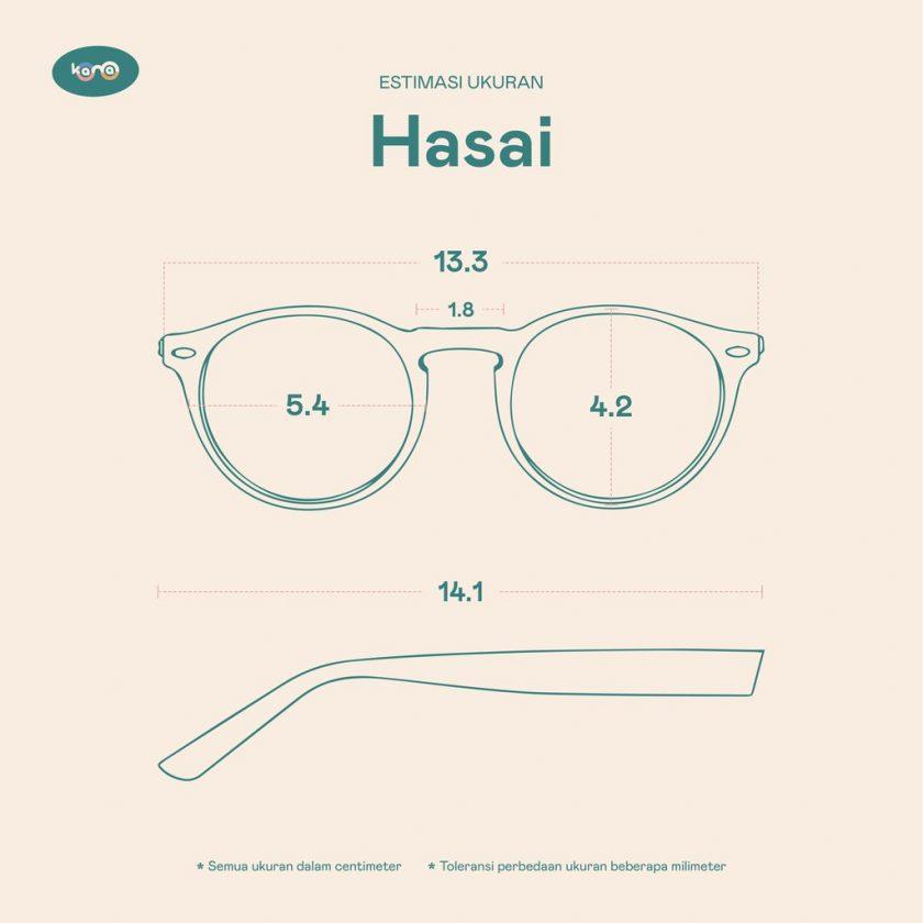 Frame Kacamata Hasai