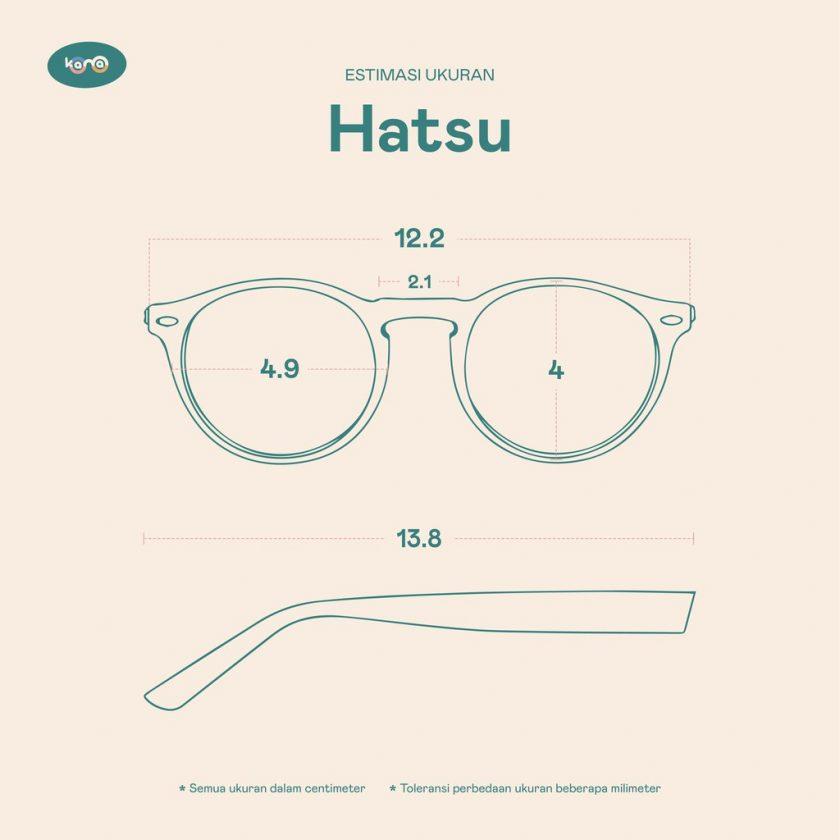 Frame Kacamata Hatsu