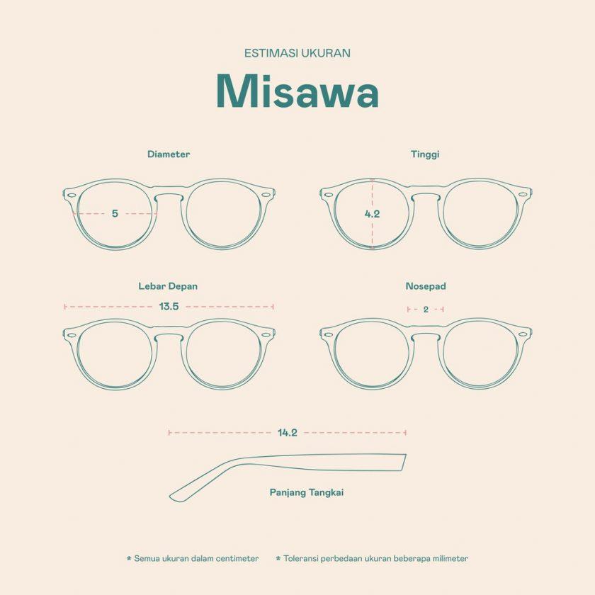 Frame Kacamata Misawa