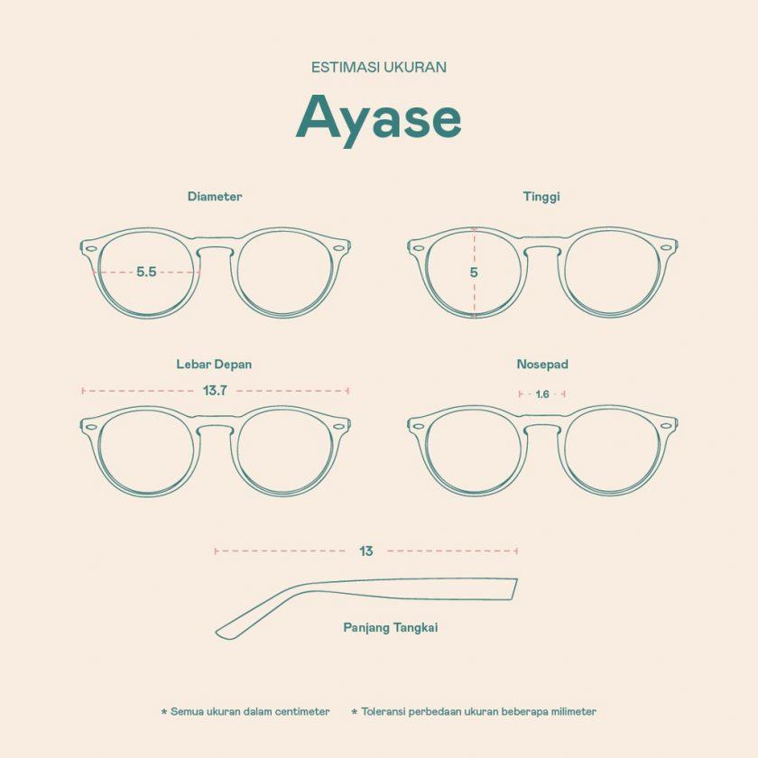 Frame Kacamata Ayase