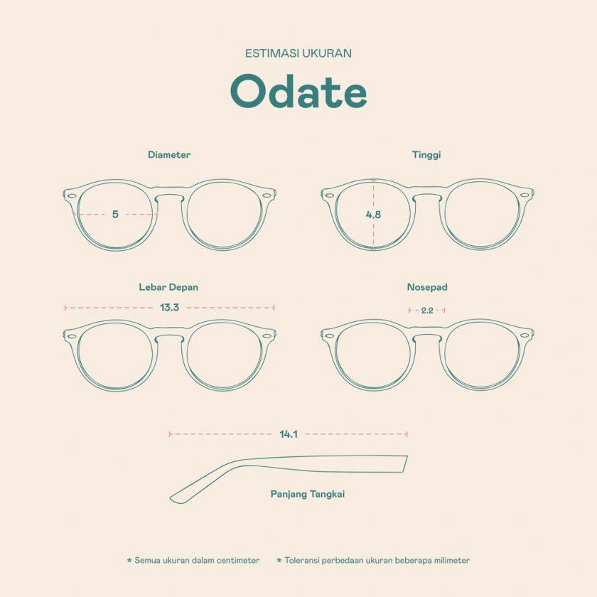Frame Kacamata Odate