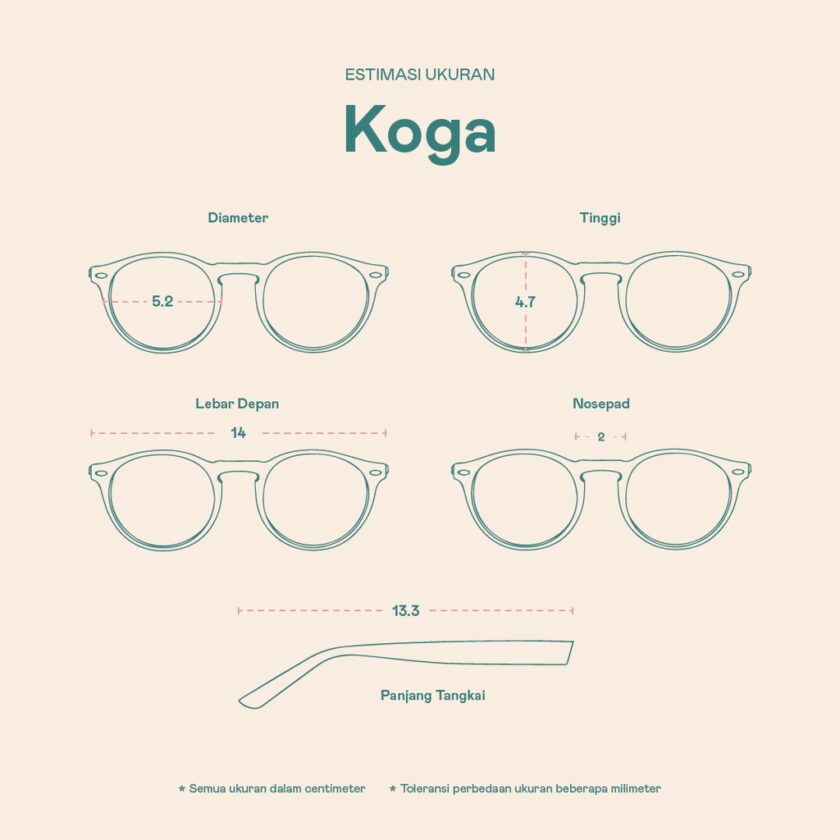 Frame Kacamata Koga