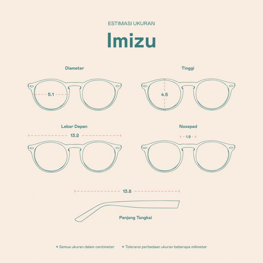 Frame Kacamata Imizu