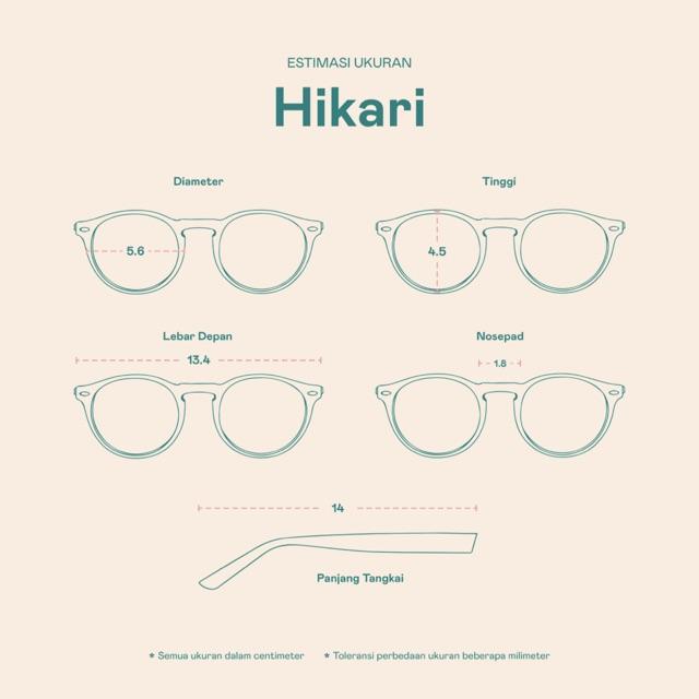 Frame Kacamata Hikari
